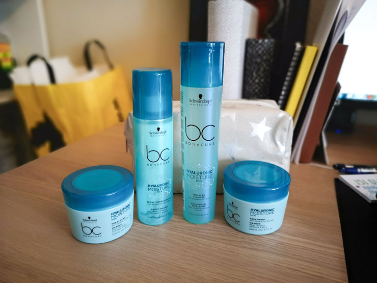 Schwarzkopf BC Bonacure – Hyaluronic Moisture Kick Treatment