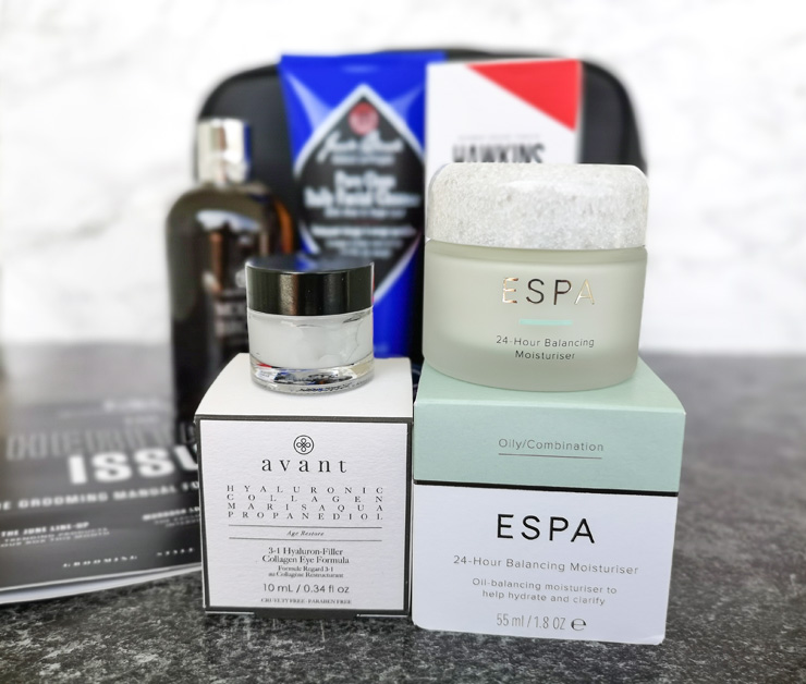 mankind grooming box - the heritage collection - espa, avant