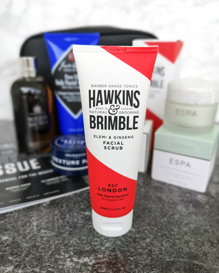 mankind grooming box - the heritage collection - hawkins & brimble