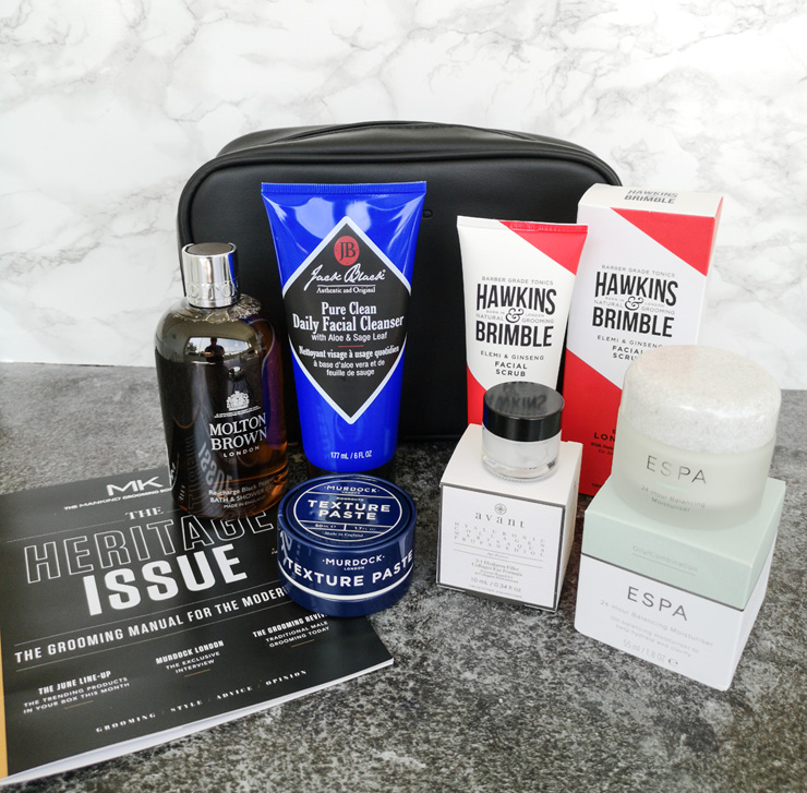 mankind grooming box - the heritage collection