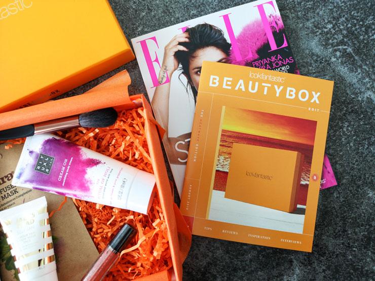 lookfantastic beauty box augusti 2019 - heatwave