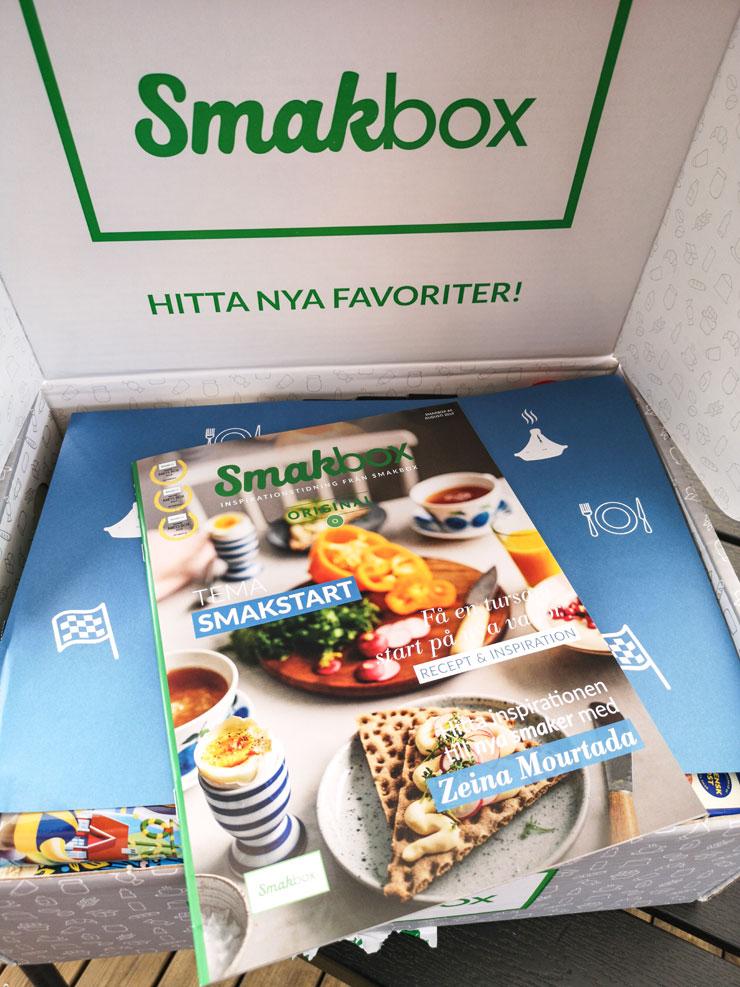 smakbox - smakstart - september