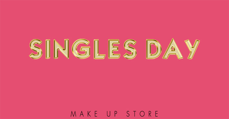 make up store singles day