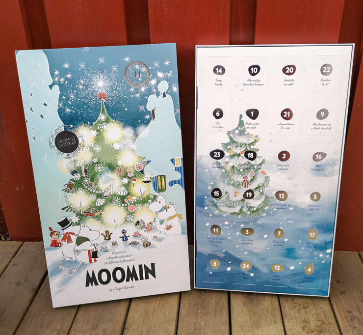 mumin adventskalender 2019