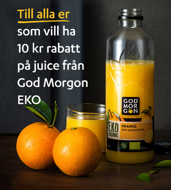 god morgon eko juice