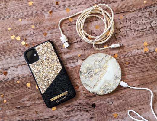 iDeal of Sweden - guld marmor