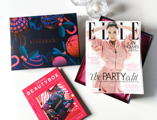 lookfantastic beauty box december 2019 - the christmas edition