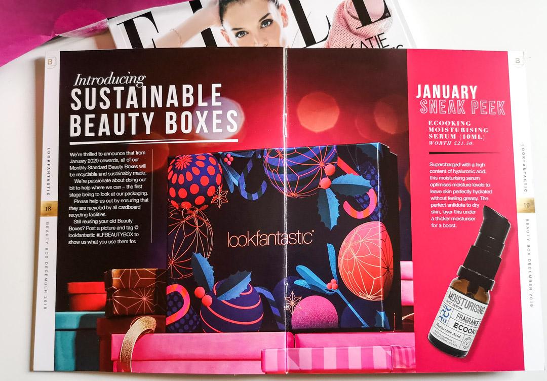 lookfantastic beauty box december 2019 - the christmas edition