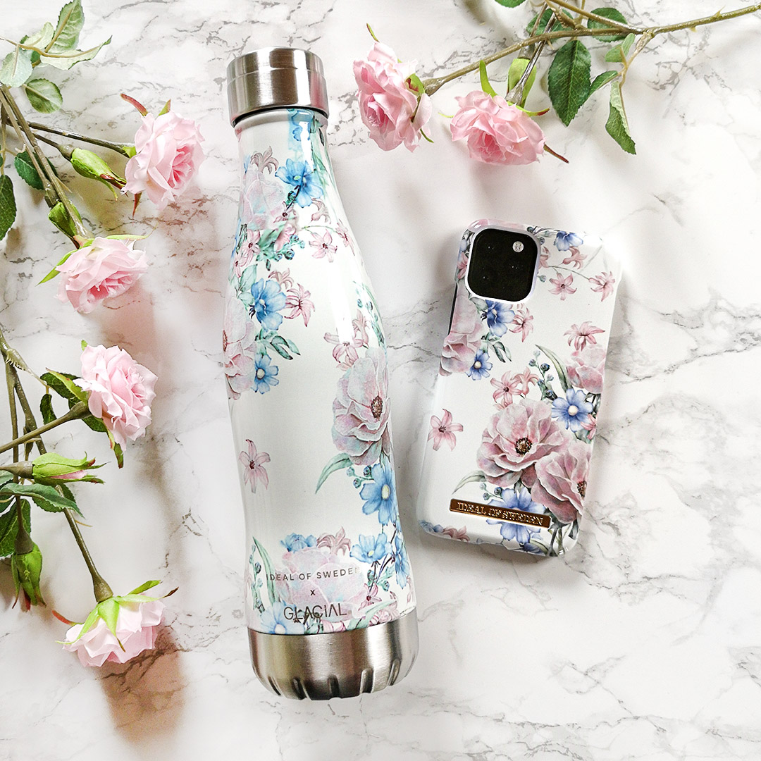 ideal of sweden - glacial flaska - floral romance