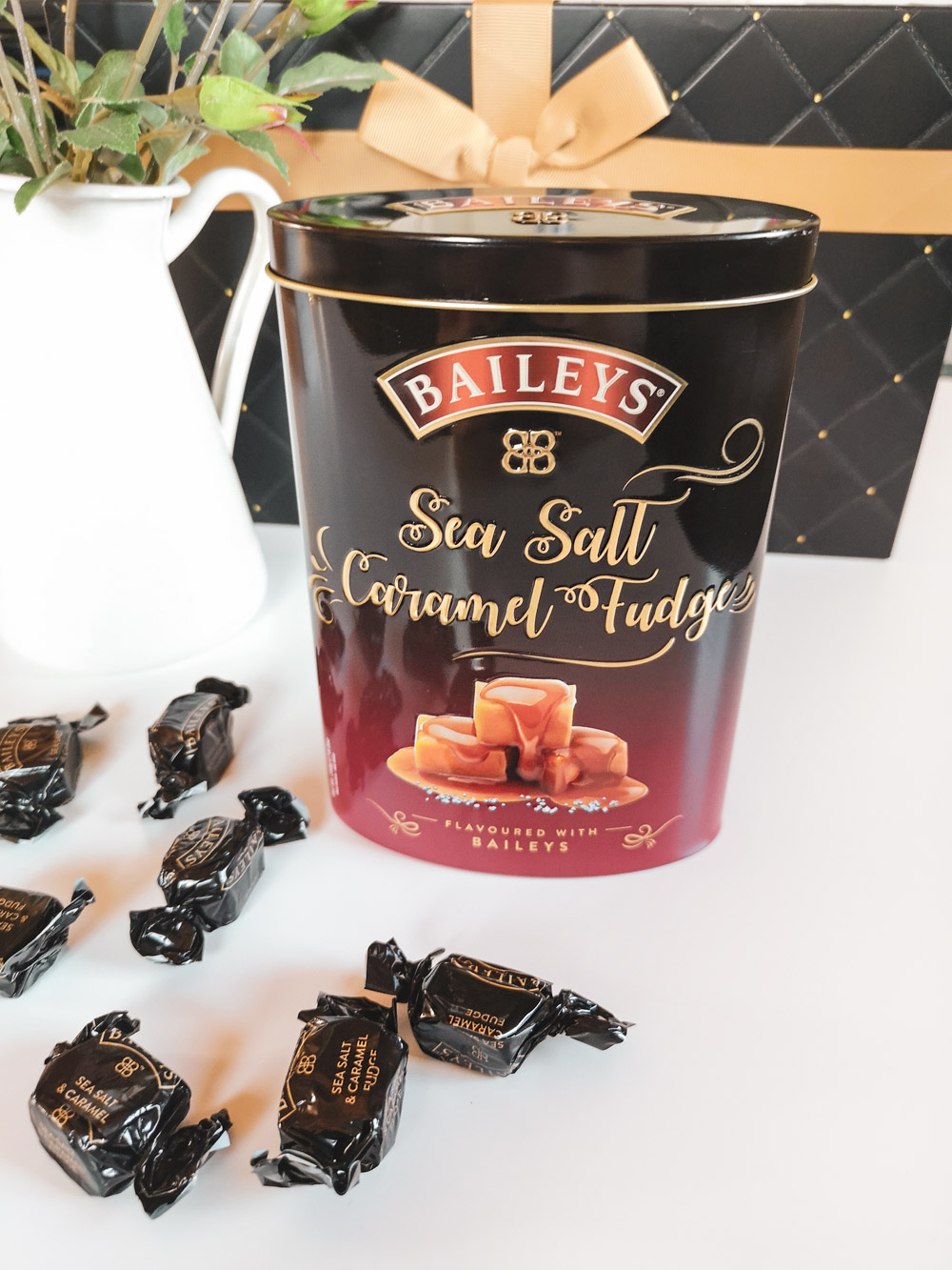 baileys sea salt fudge
