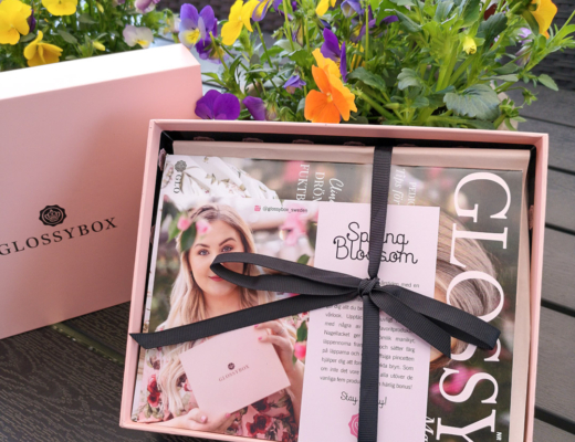 glossybox april 2020 - spring blossom