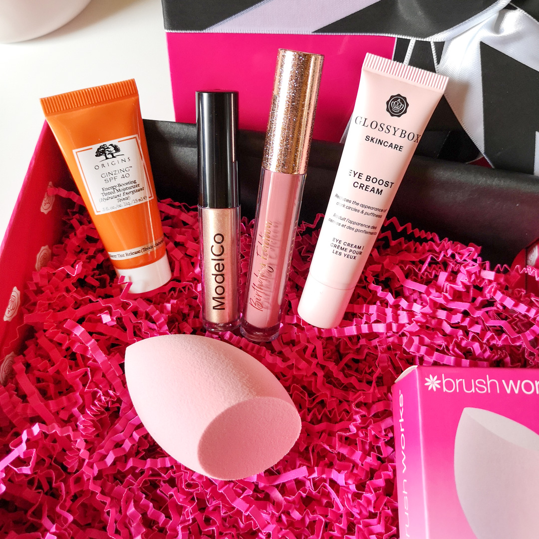 glossybox augusti 2020 - birthday edition
