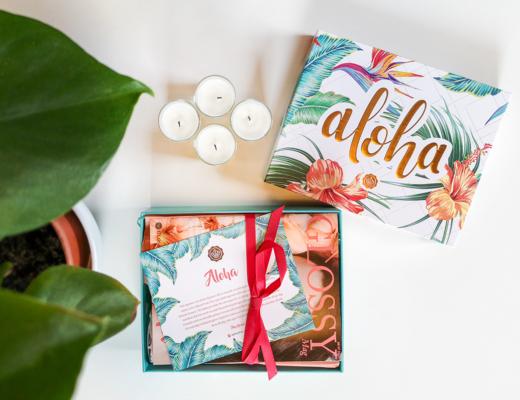 glossybox juli 2020 - aloha