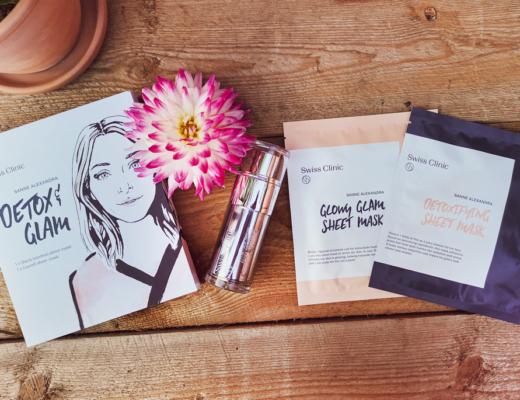 swiss clinic - detox glam ansiktsmasker