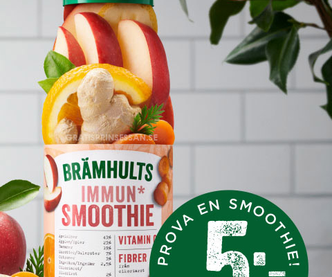 brämhults smoothies rabattkupong