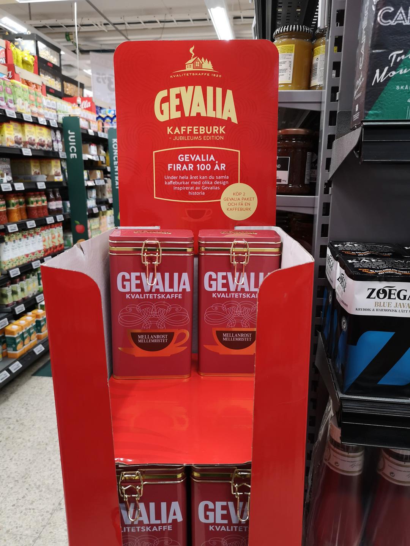 gevalia kaffeburk kampanj