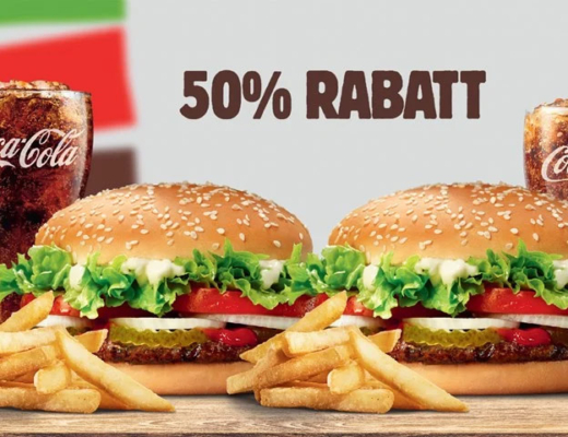 burger king rabatt