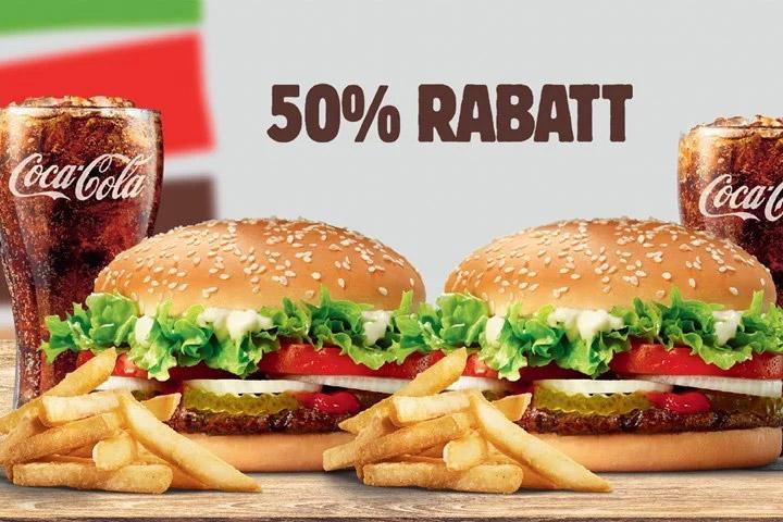 burger king rabatt