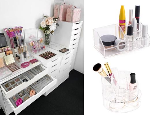 sminkförvaring - makeup förvaring
