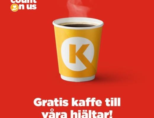gratis kaffe cirkle k