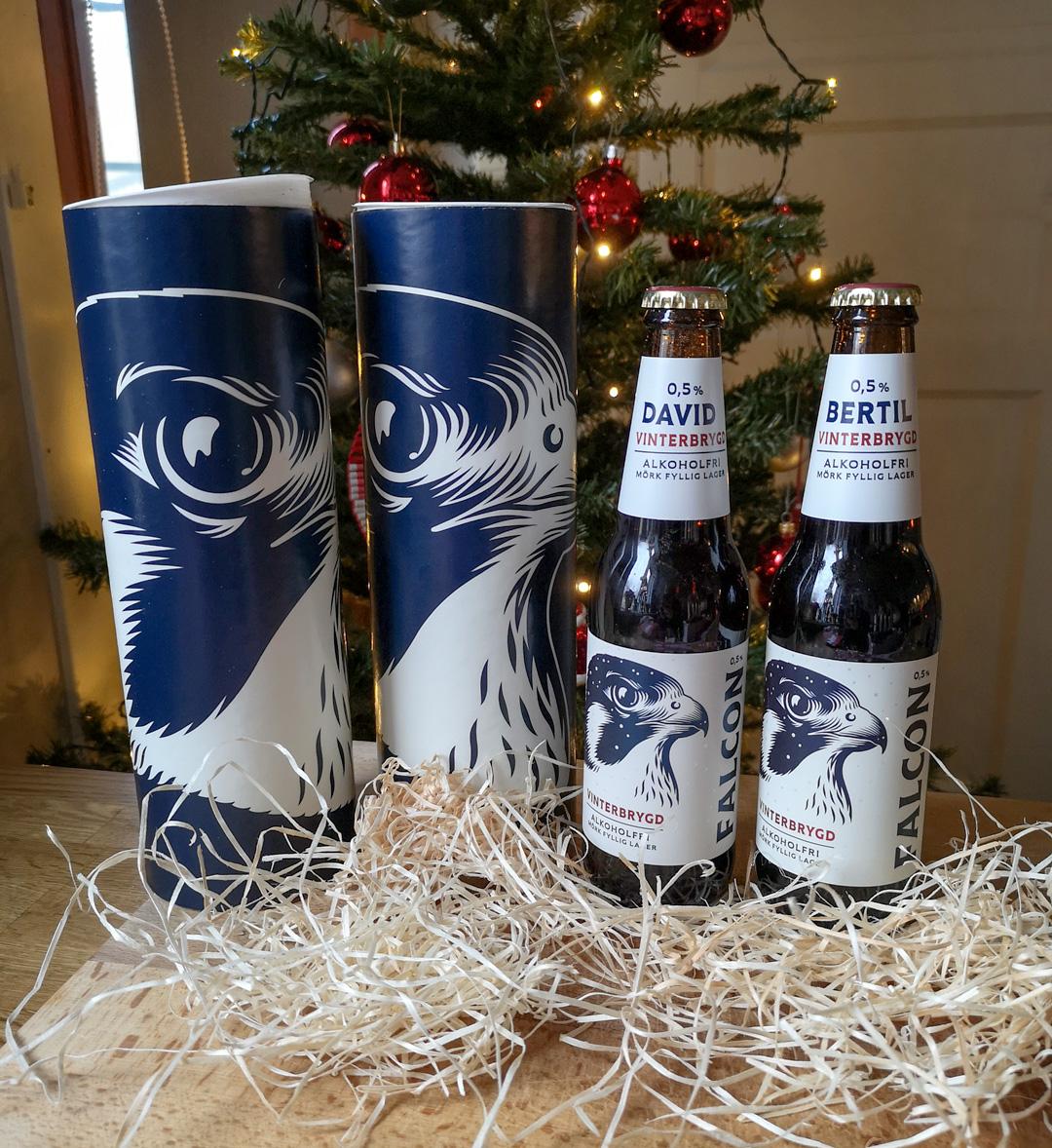 flaskpost falcon vinterbrygd alkoholfri
