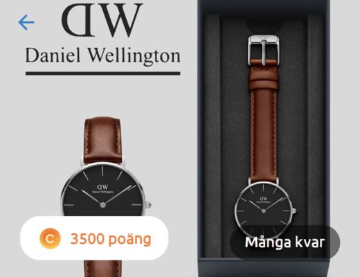 gratis klocka daniel wellington