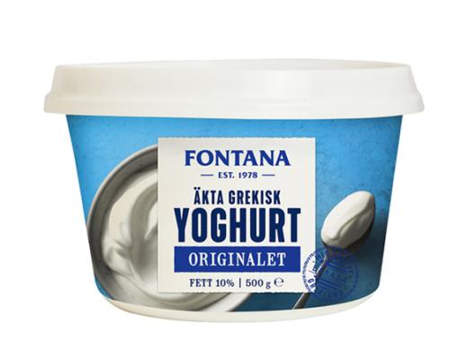 gratis fontana yoghurt