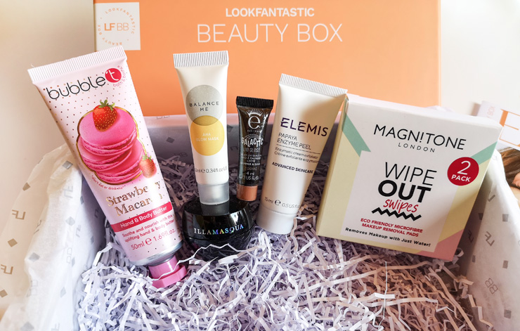 lookfantastic beauty box februari 2021 - treasure