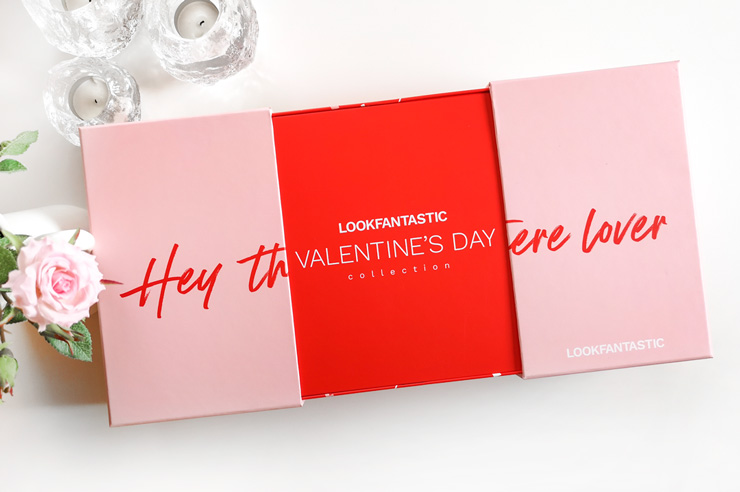 unboxing LOOKFANTASTIC Valentine's Day Collection 2021