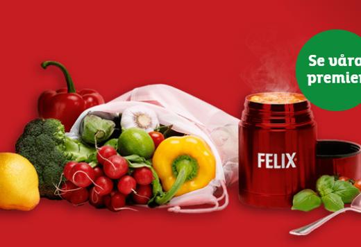 felix veggie premier
