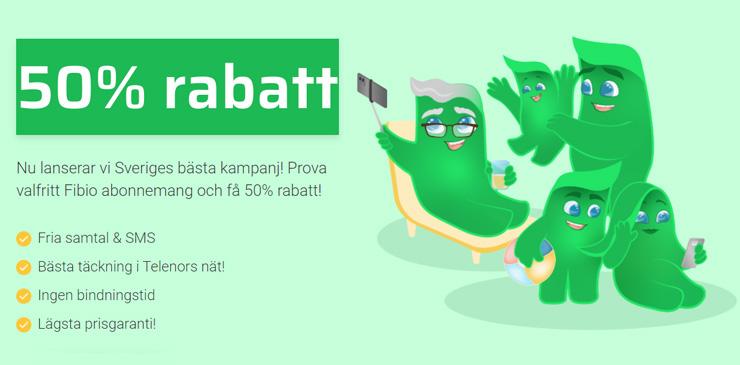 fibio mobilabonnemang + viaplay