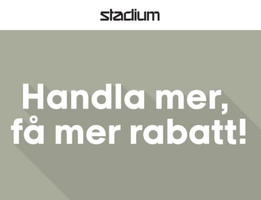 stadium rabatt