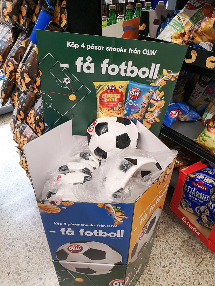 köp OLW- få en fotboll