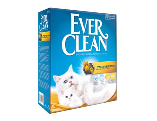 ever clean gratis kattsand