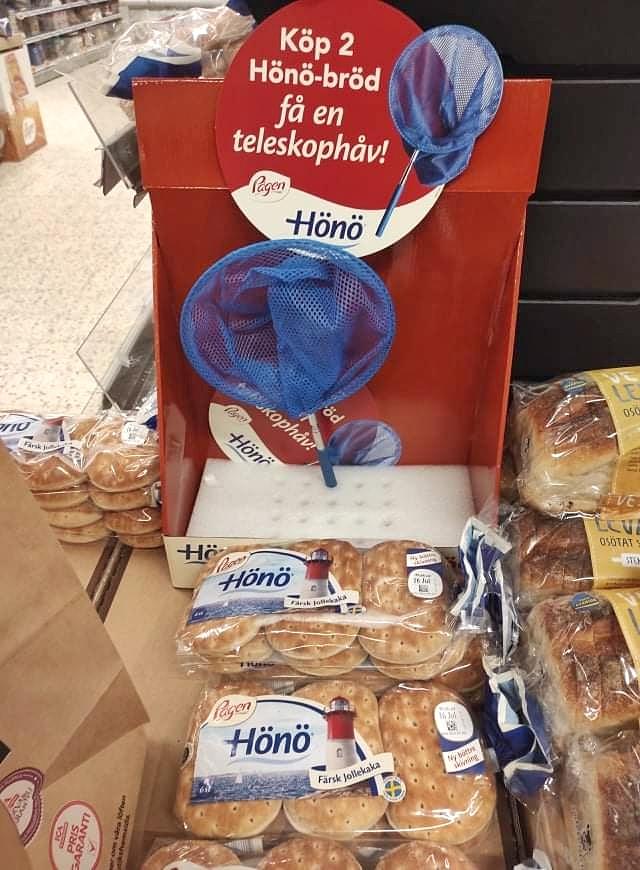 Köp Hönö-bröd - få en teleskophåv