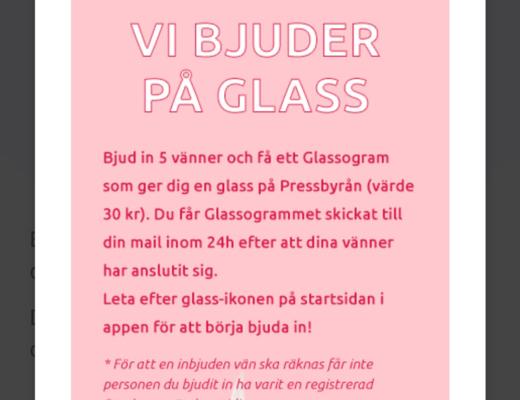 stepler gratis glass