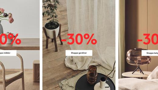 30% rabatt hos Jotex