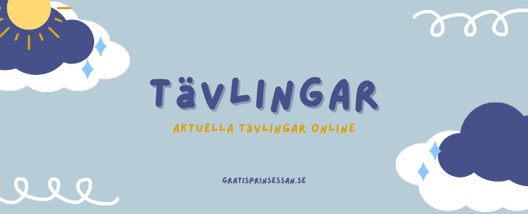 tävlingar - aktuella tävlingar online