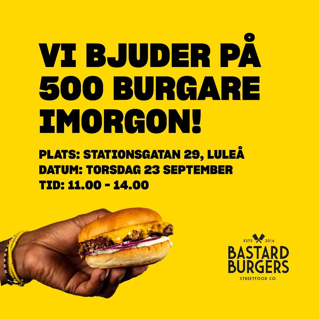 bastard burgers gratis hamburgare