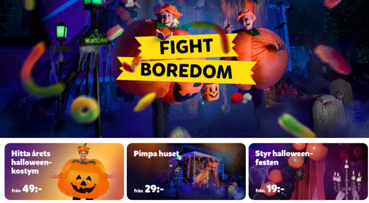 partykungen rabatt halloween