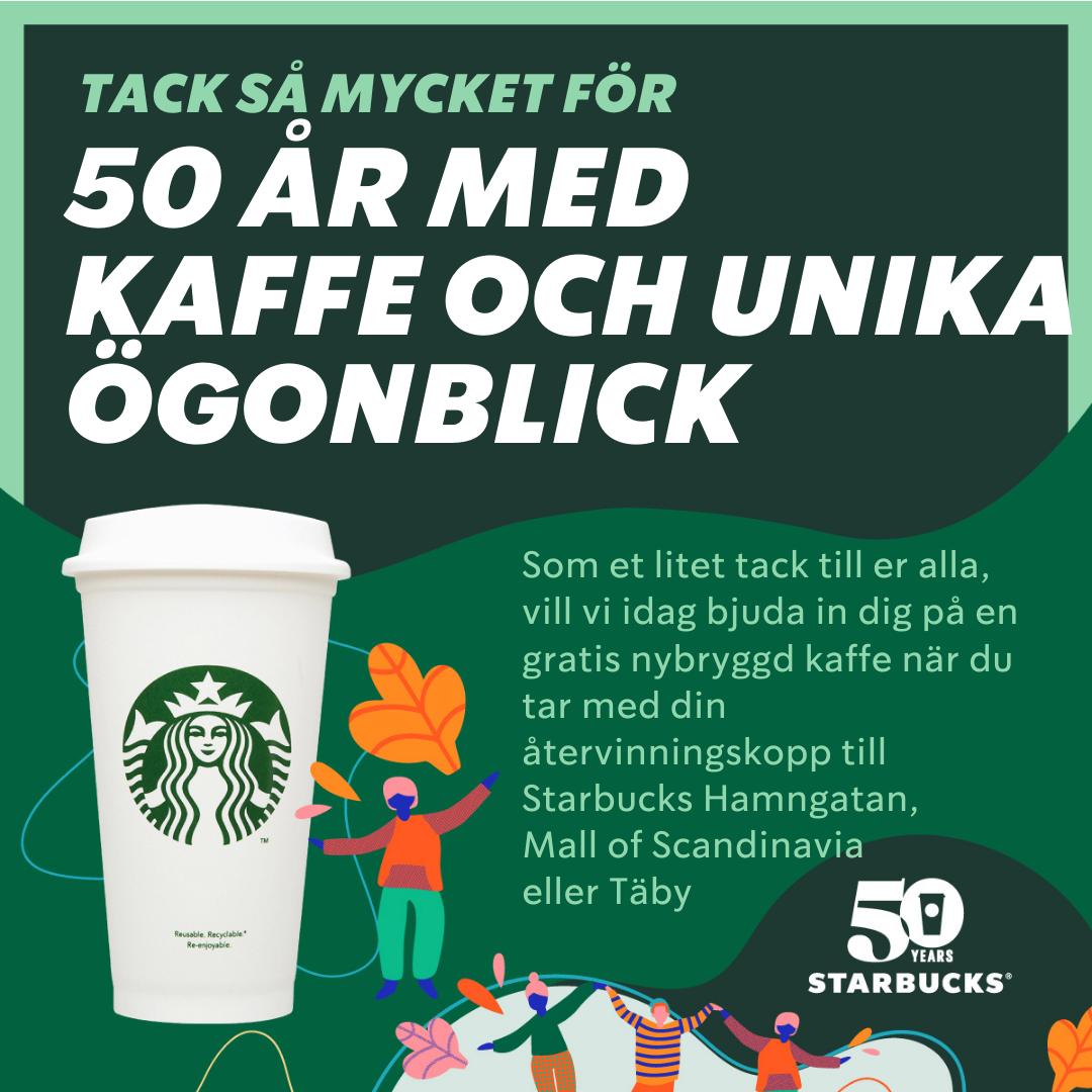 gratis kaffe starbucks