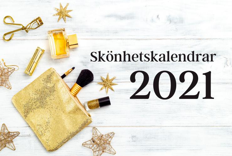 skönhetskalendrar 2021